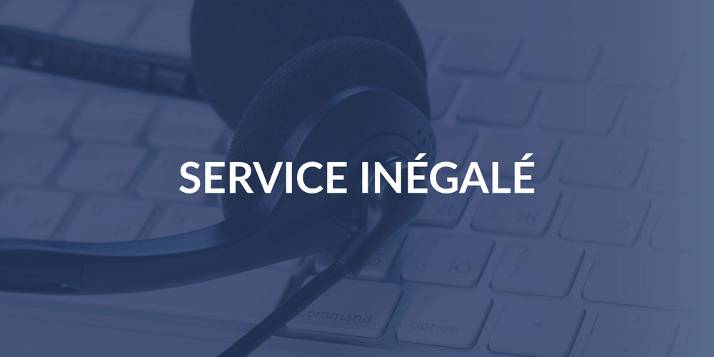 Pillars — Unparalled Service French