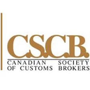 CSCB Canadian Society of Customs Brokers logo