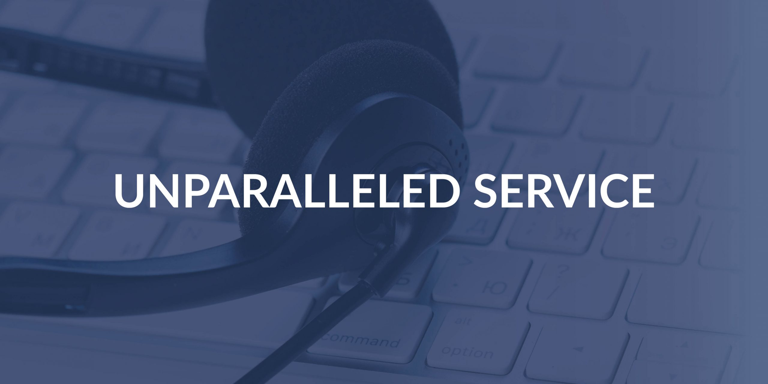 Pillars — UNPARALLELED Service scaled